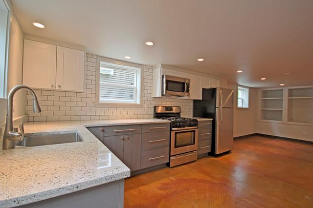 tiny attic remodel - Seattle Basement Remodel Accessory Dwelling Unit