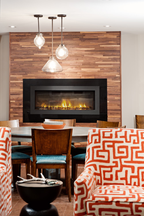 Fireplace Design: Wood Fireplaces -