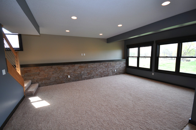simple life traditional basement other metro by pure style by