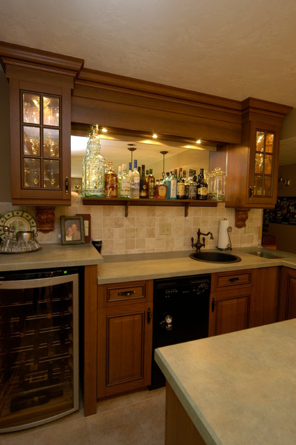 Small Space Big Charm Wet Bar