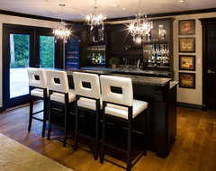 South Surrey contemporary basement