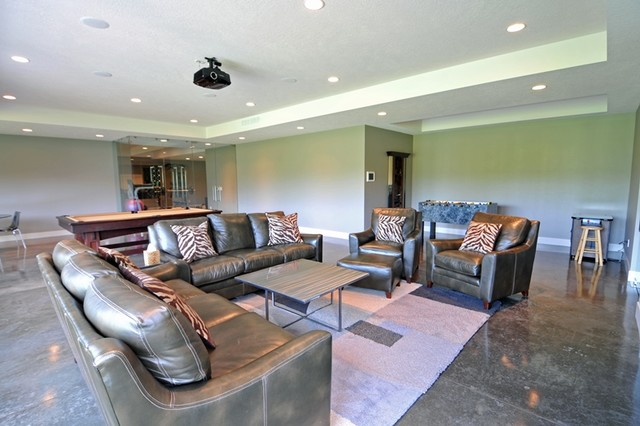 spanish bay custom home 2 contemporary basement other metro by