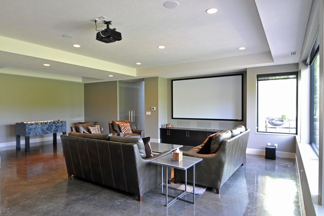 spanish bay custom home 2 contemporary basement other by brown