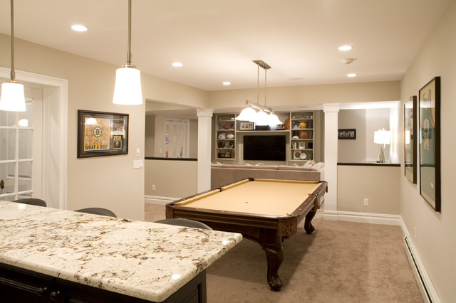 Sports Theme contemporary-basement