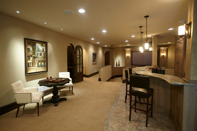 Spur Road - Edina, MN traditional-basement