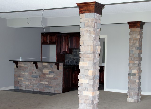 Stone Canyon subdivision in Blue Springs, MO - Traditional - Basement - kansas city - by Dreams ...