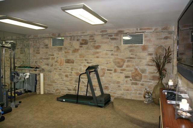 Stone wine cellars modern basement for Interior wall designs stone