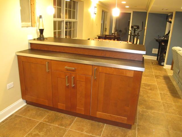 Streamwood Basement traditional-basement
