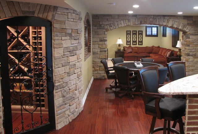 Talley Traditional Basement Columbus By Buckeye