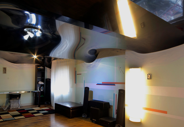 How To Cover Pipes In Basement Ceiling. The Modern Way To Cover Pipes Ducts Modern Basement