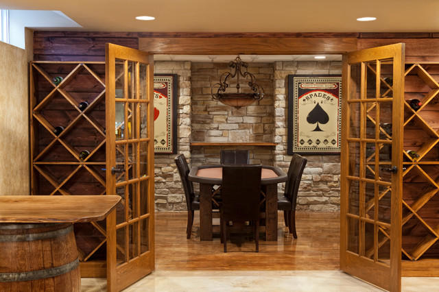 the ultimate bachelor pad traditional basement