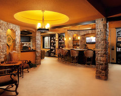 Timbers traditional-basement