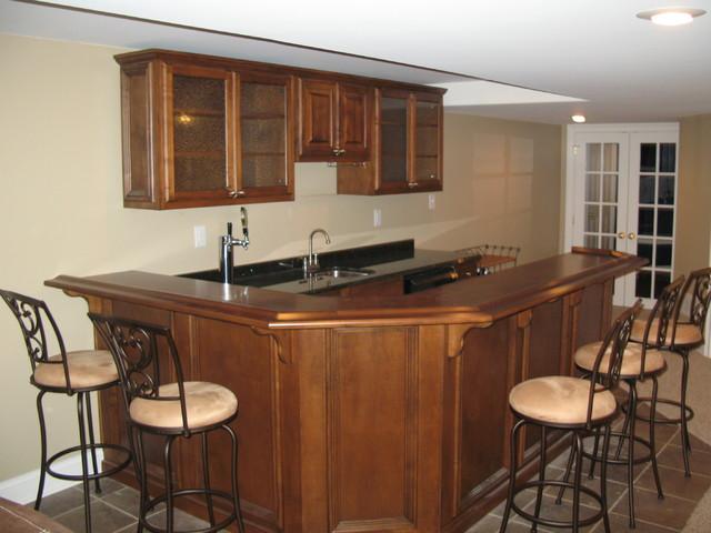 Traditional residential bar - Residential bars ...