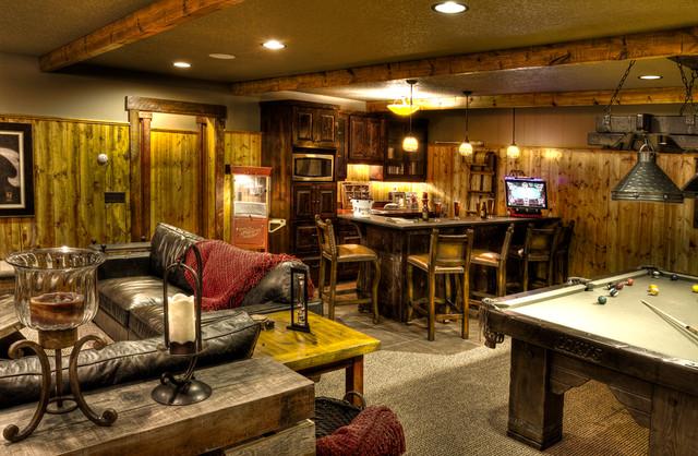 Trout Lake 1 Rec Room Rustic