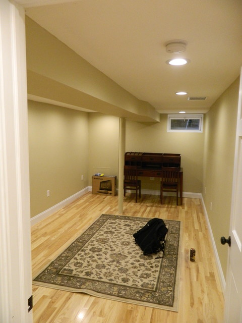 Turning point traditional-basement