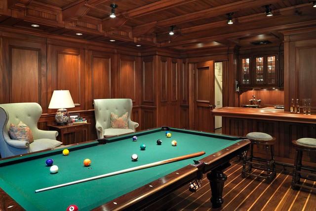 Urban Elegance traditional-basement