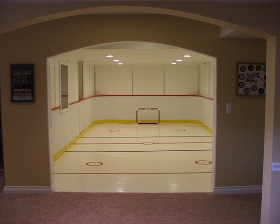 Bedroom Design Ideas Hockey Rink In Basement Home Design Ideas Pictures Remodel And Decor