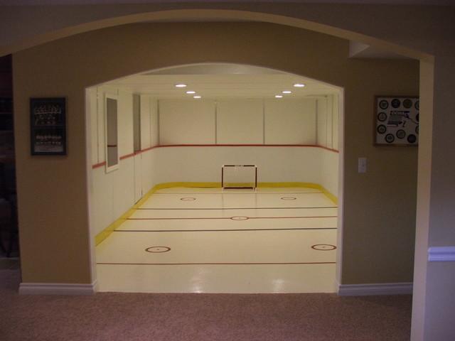 utica basement traditional basement