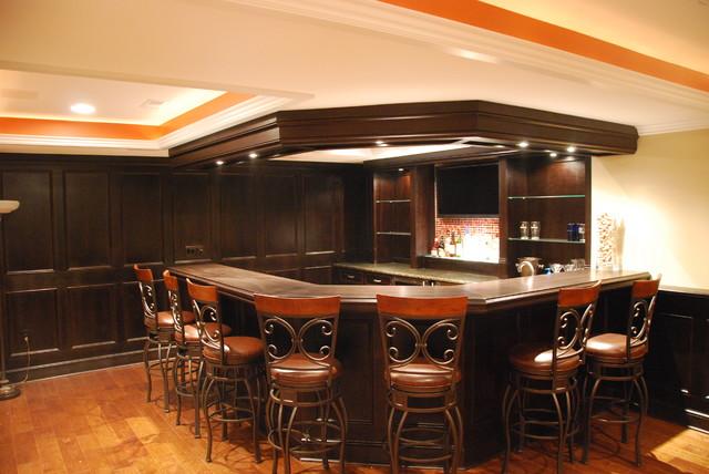 Verkerke Basement traditional-basement