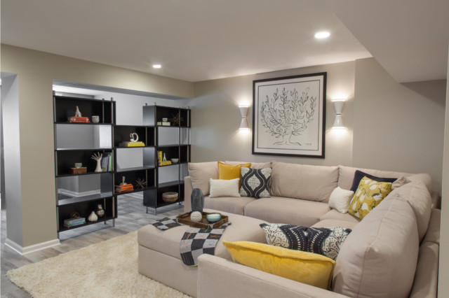Vibrant Colorful Basement Children S Play Area Master Suite Eclectic Basement Dc Metro By Maria Causey Interior Design Houzz Au