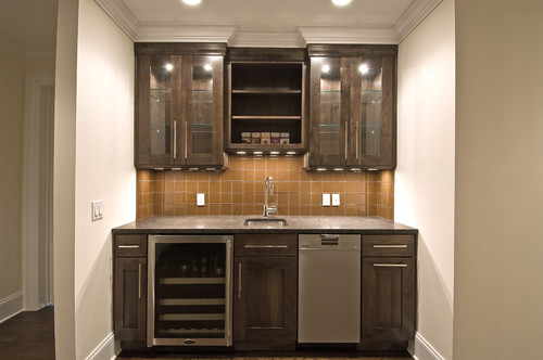 I Plan To Use A 18'' Cabinet For A Wet Bar. Is This 18