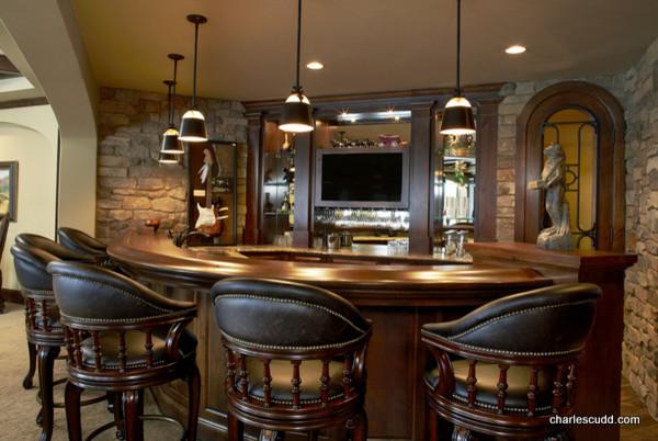 Wayzata Custom Home traditional-basement