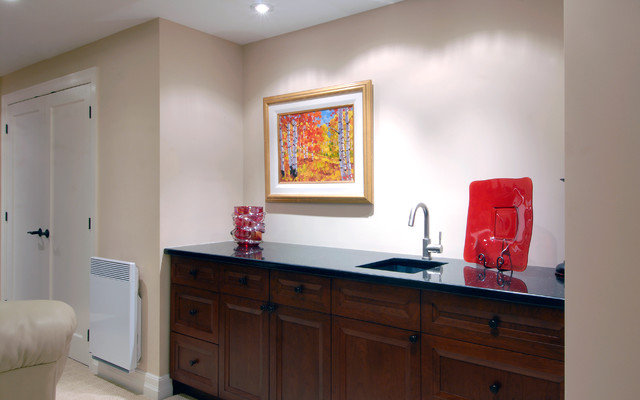 Wet Bar - contemporary - basement - ottawa - by Southam Design Inc