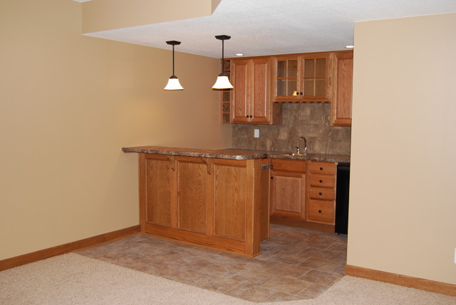basement dry bar. Wet Dry Bars traditional basement  Traditional Basement Cedar Rapids by Todd