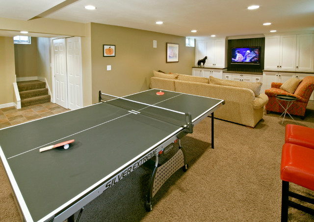 Whitefish Bay whole house remodel traditional-basement