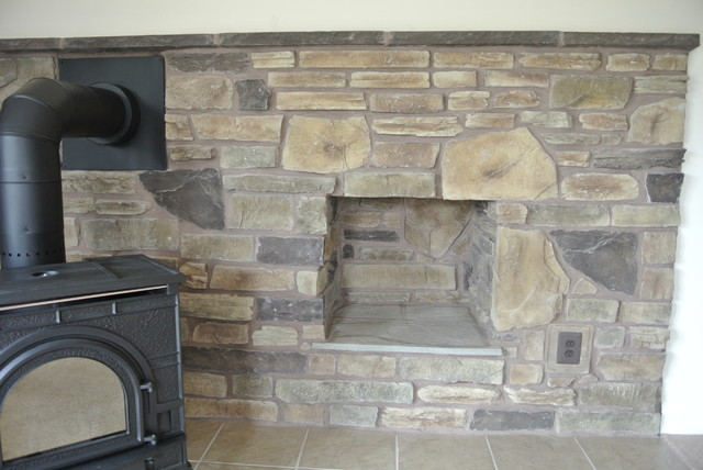 wood furnace in basement traditional basement dc metro by mike