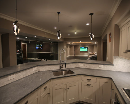 Basement design ideas pictures remodel decor for Passarelli custom homes