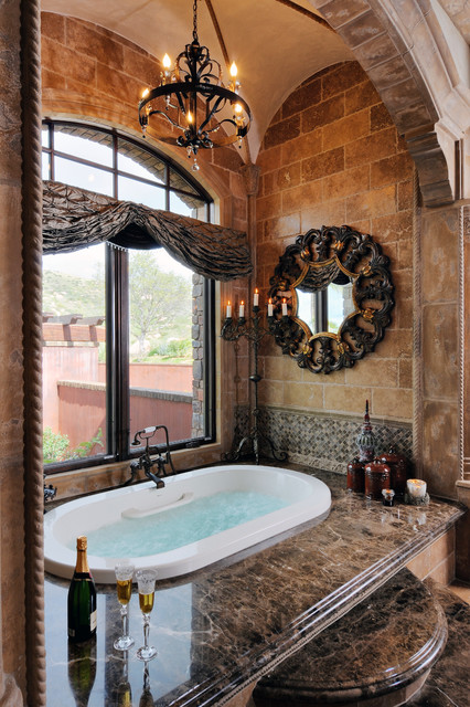 1. Old World Estate traditional bathroom