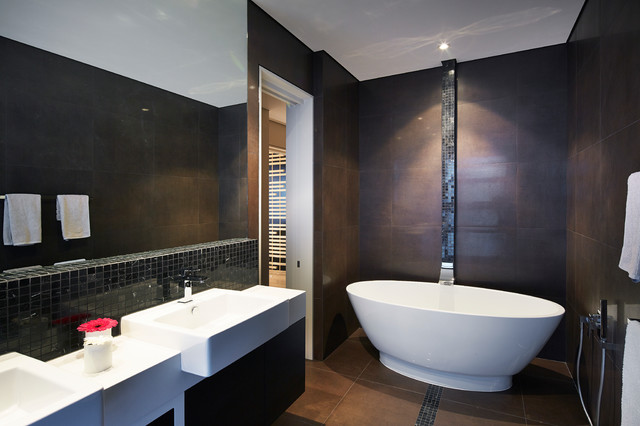 1 west leederville residence 2014 contemporary bathroom perth by yael k designs Bathroom design perth uk
