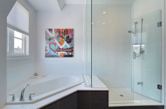 100 Ensuites to Inspire contemporary-bathroom