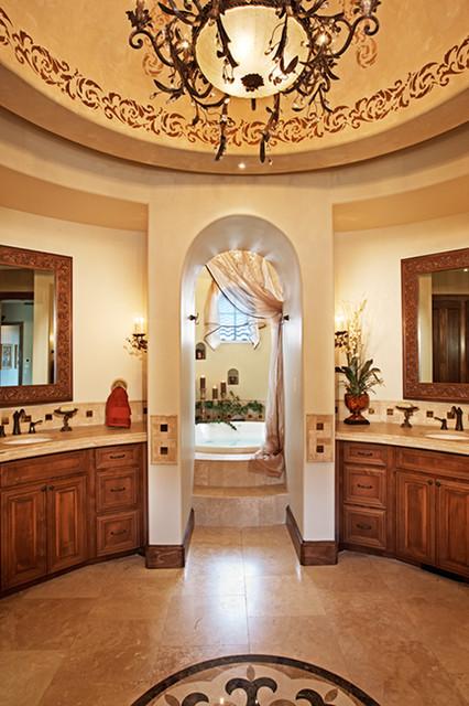 105 Golden Bear mediterranean-bathroom