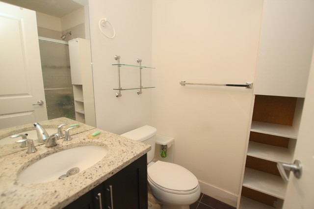 109 2330 Shaughnessy St Condo For Sale In Port Coquitlam 202 800 Modern Bathroom