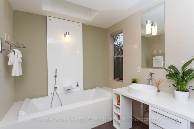 1110 W House Modern Bathroom Los Angeles By W Architectural Photography