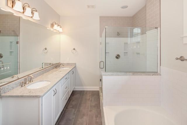 1125 n harrison st addition fit for a family - Salle de bain classique chic ...