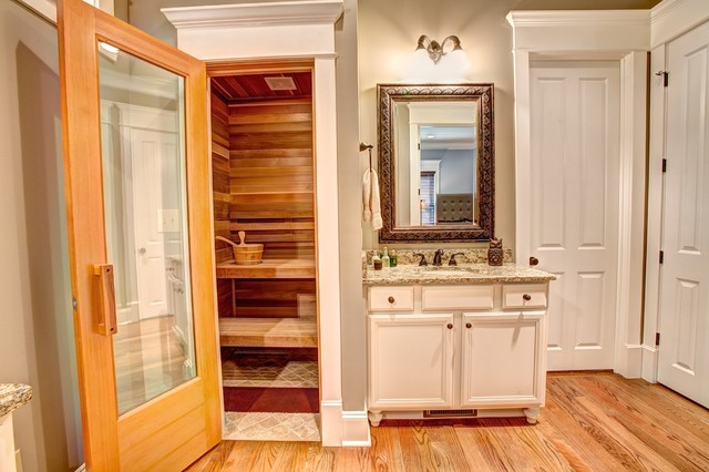115 sturdivant street in historic downtown madison al for Master bathroom with sauna