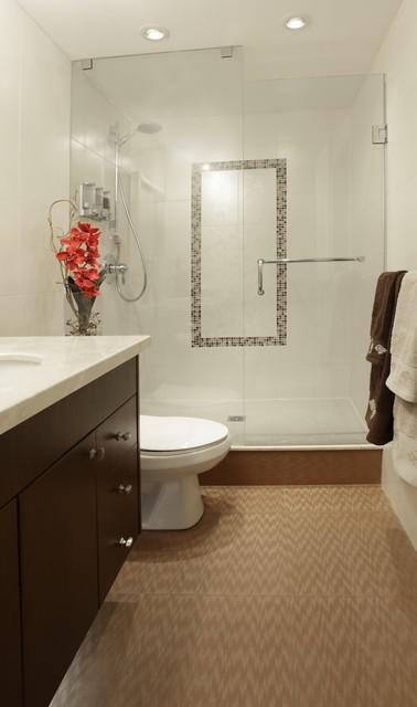 1200 Suare Foot Condo contemporary-bathroom
