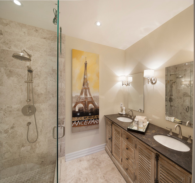 13 Foxley St. transitional-bathroom