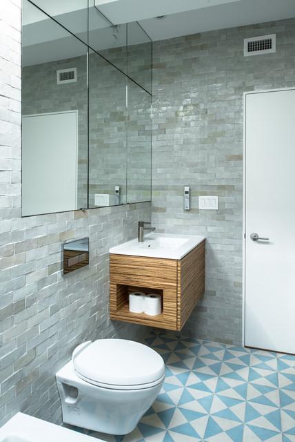 Jane Kim Design Industrial Bathroom New York By Jane Kim Design