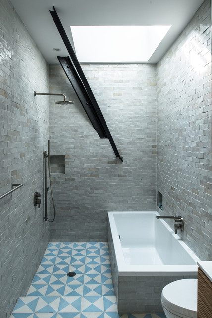 Jane Kim Design industrial bathroom. Jane Kim Design   Industrial   Bathroom   New York   by Jane Kim