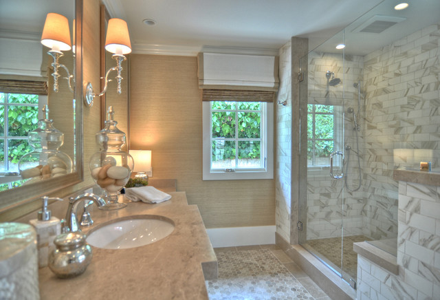1512 Dolphin Terrace Beach Style Bathroom Los Angeles By Spinnaker Development