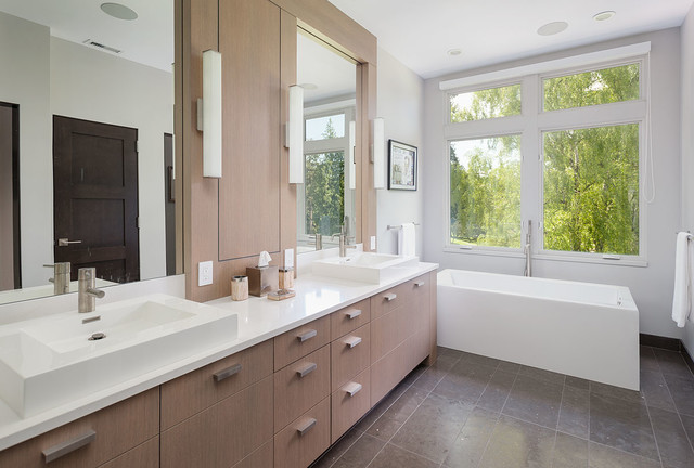 1515 residence contemporary bathroom seattle by for Bathroom remodel mckinney