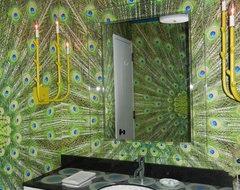 161 West 15th Street Residence eclectic bathroom