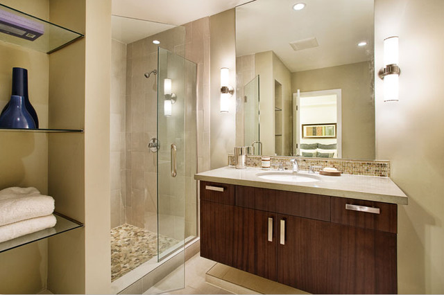 1636 diamond street san francisco ca contemporary for Bathroom remodel 94112