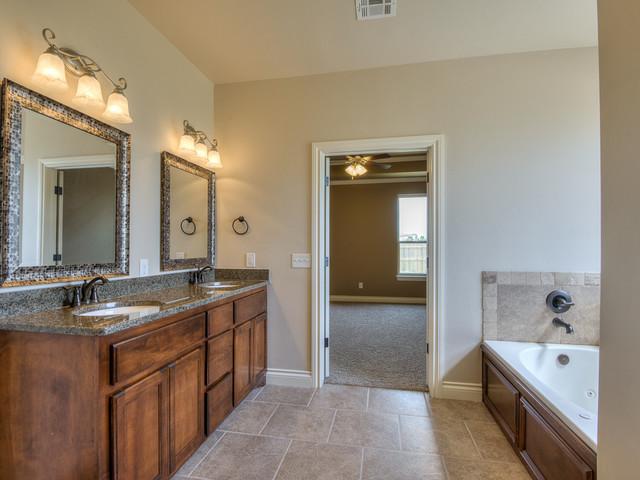 Simple Moomey Custom  Rustic  Bathroom  Oklahoma City  By Huffman