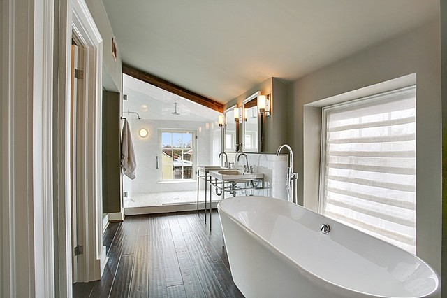 1860 S French Quarter New Orleans Townhouse Bath Renovation