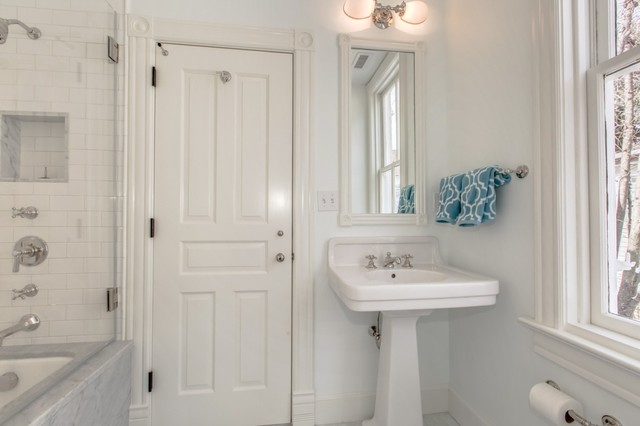 1890 semi detached victorian with carriage house connected for 1890 bathroom design